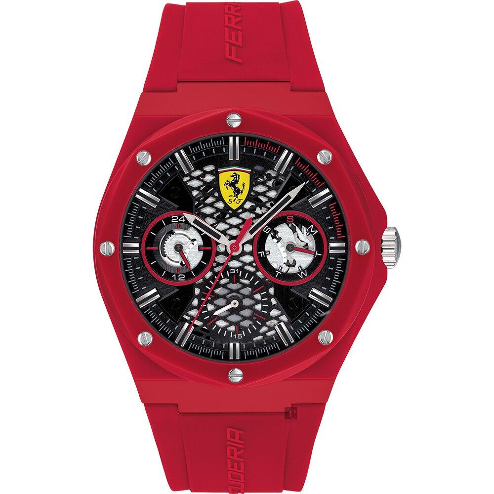 Scuderia Ferrari 法拉利 ASPIRE 奔馳日曆八角手錶(0830786)-44mm
