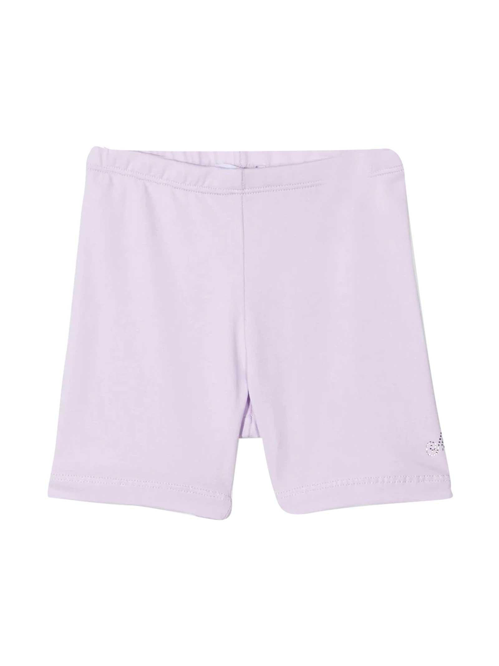 Monnalisa Light Pink Shorts
