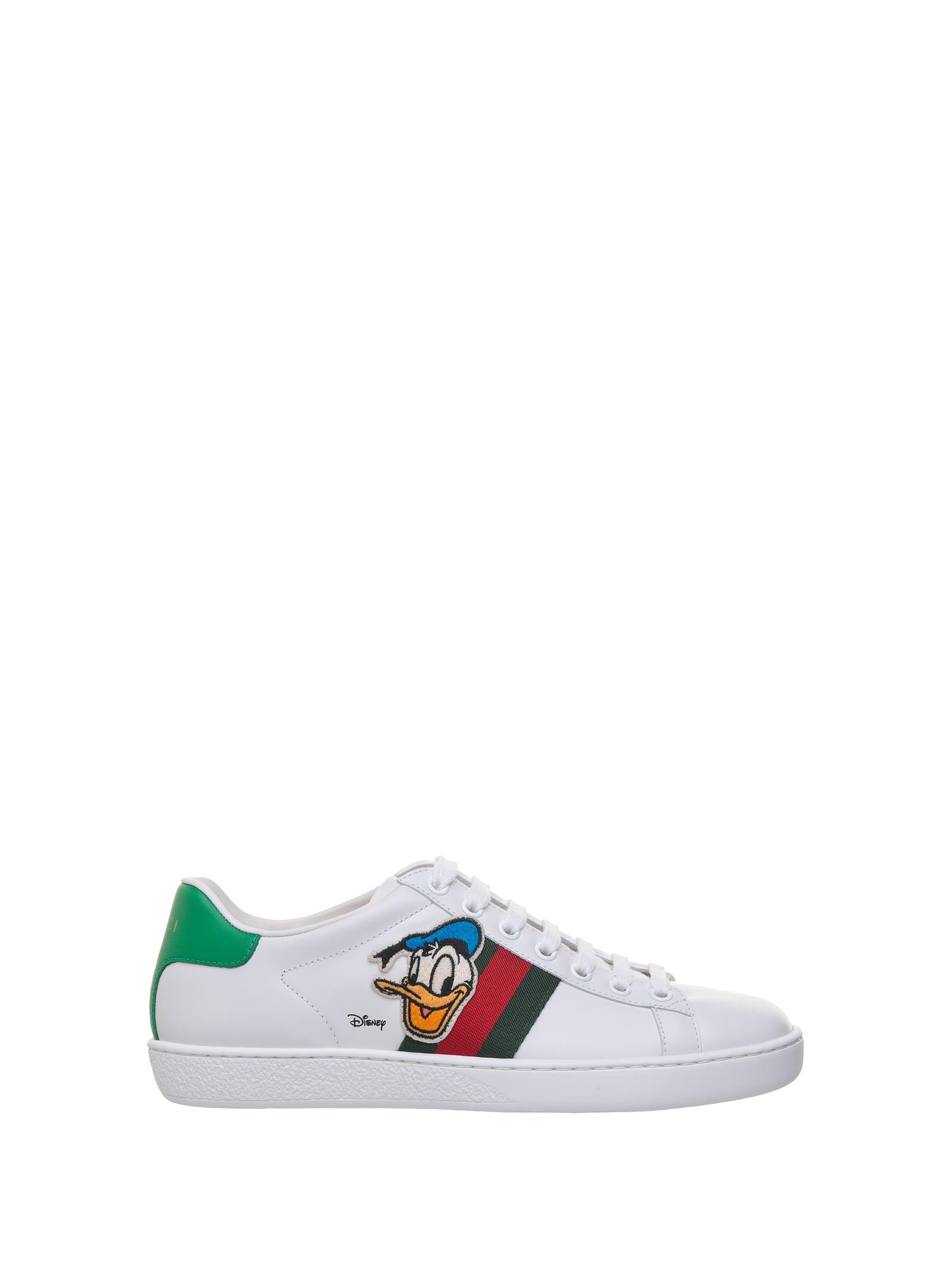 Gucci Donald Duck Disney X Gucci Ace Sneaker