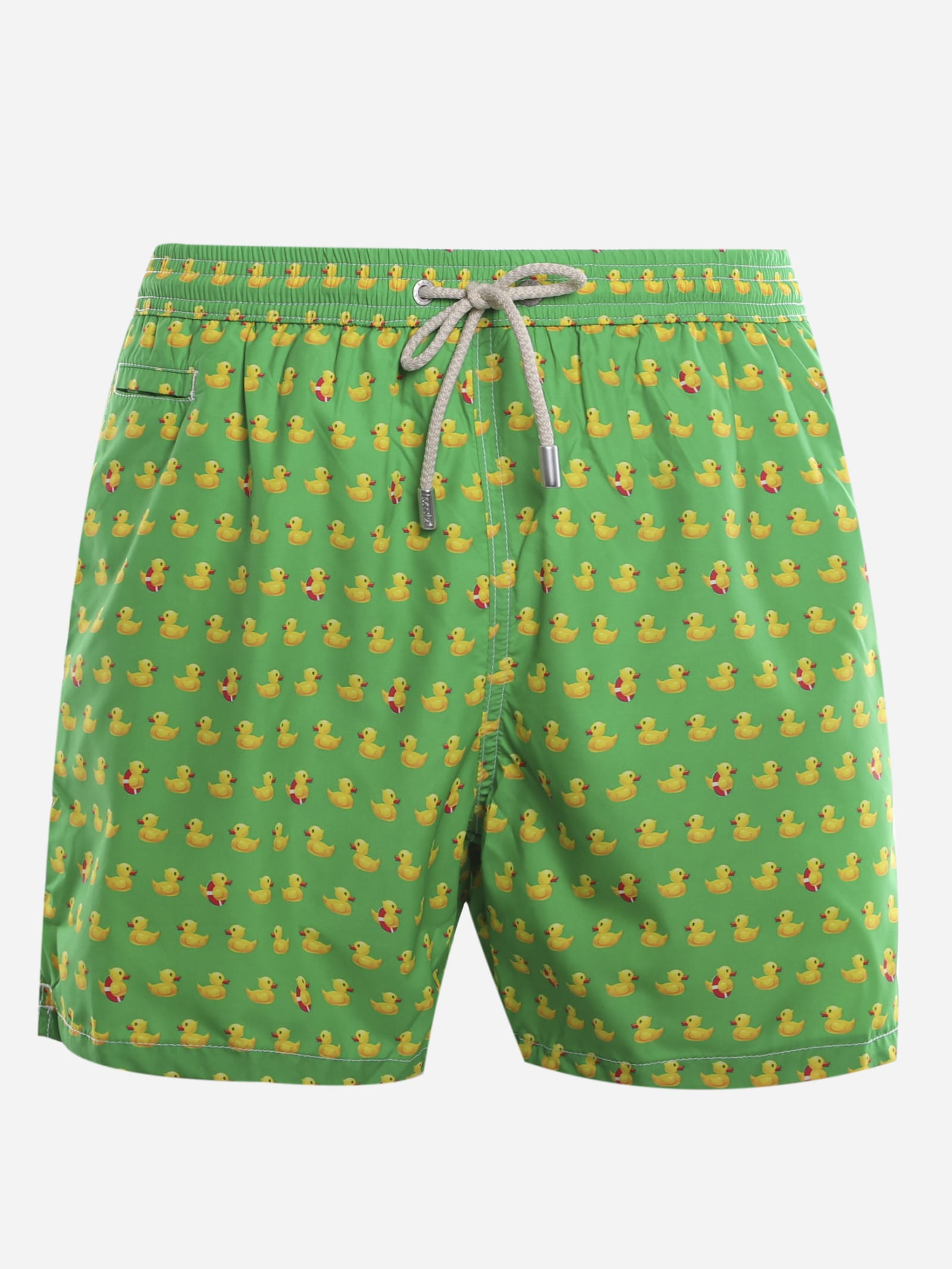MC2 Saint Barth Swimsuit With All-over Duck Print