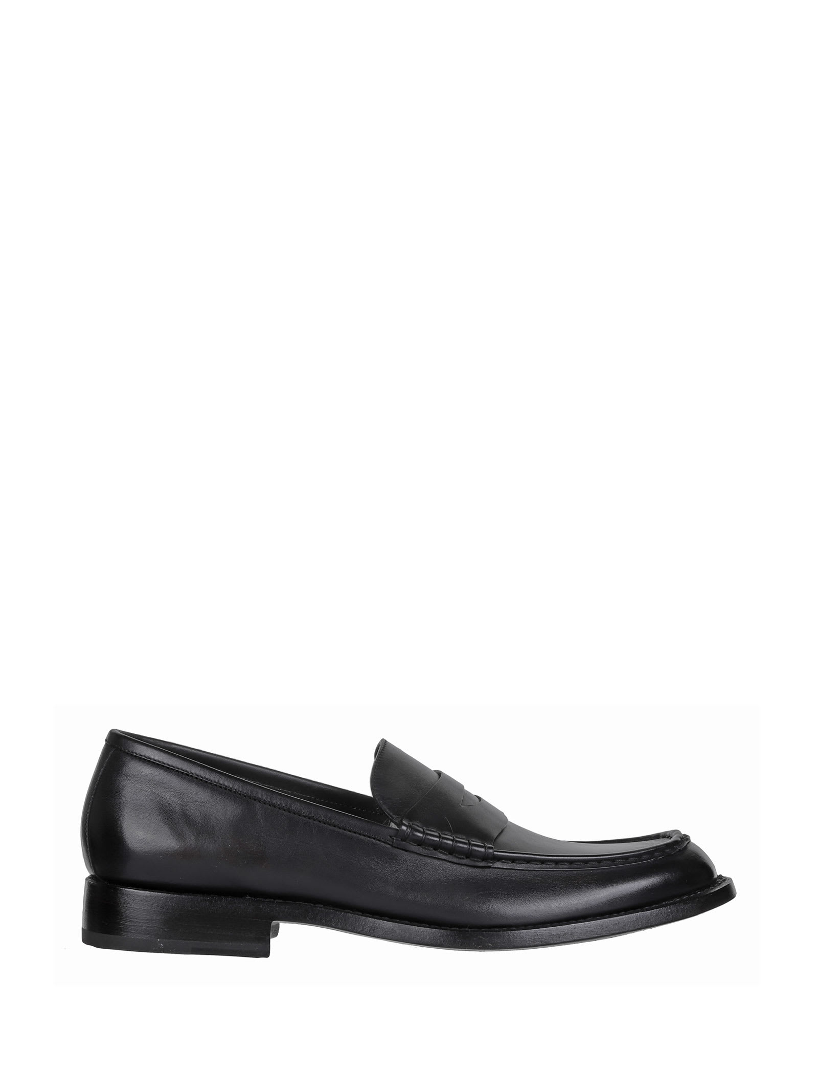 Barrett Loafers In Black Leather