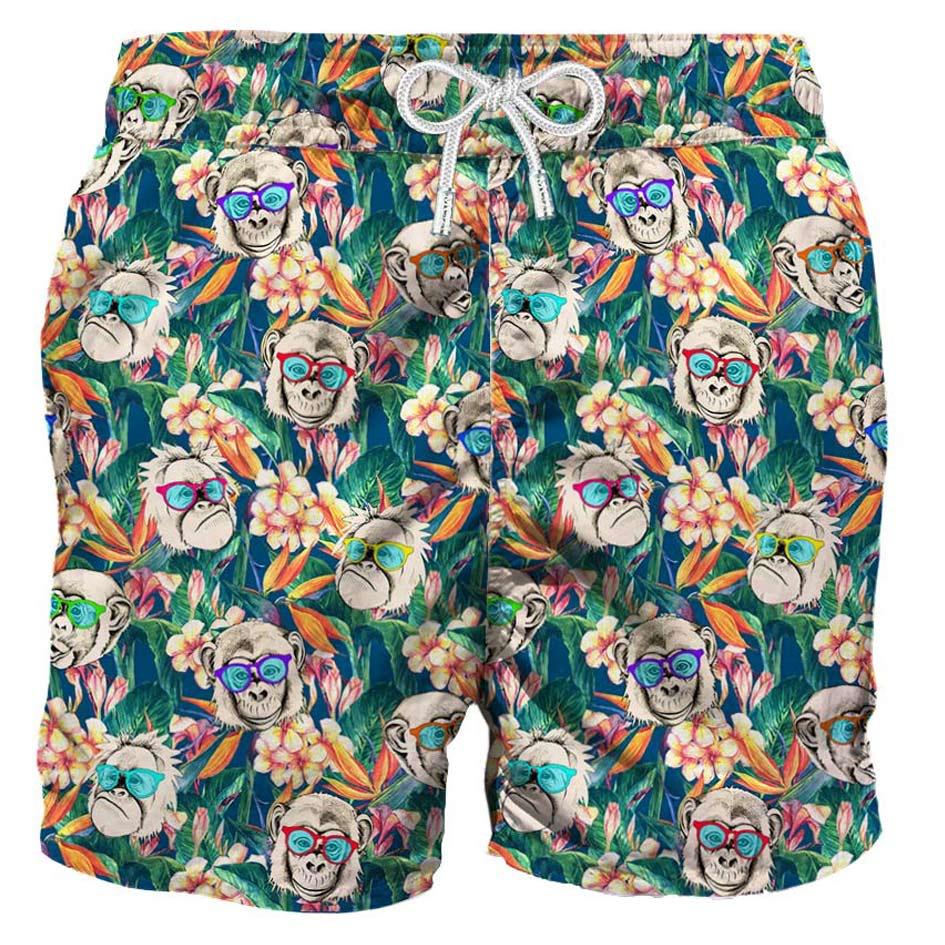 MC2 Saint Barth Monkeys Mid-length Swim Shorts