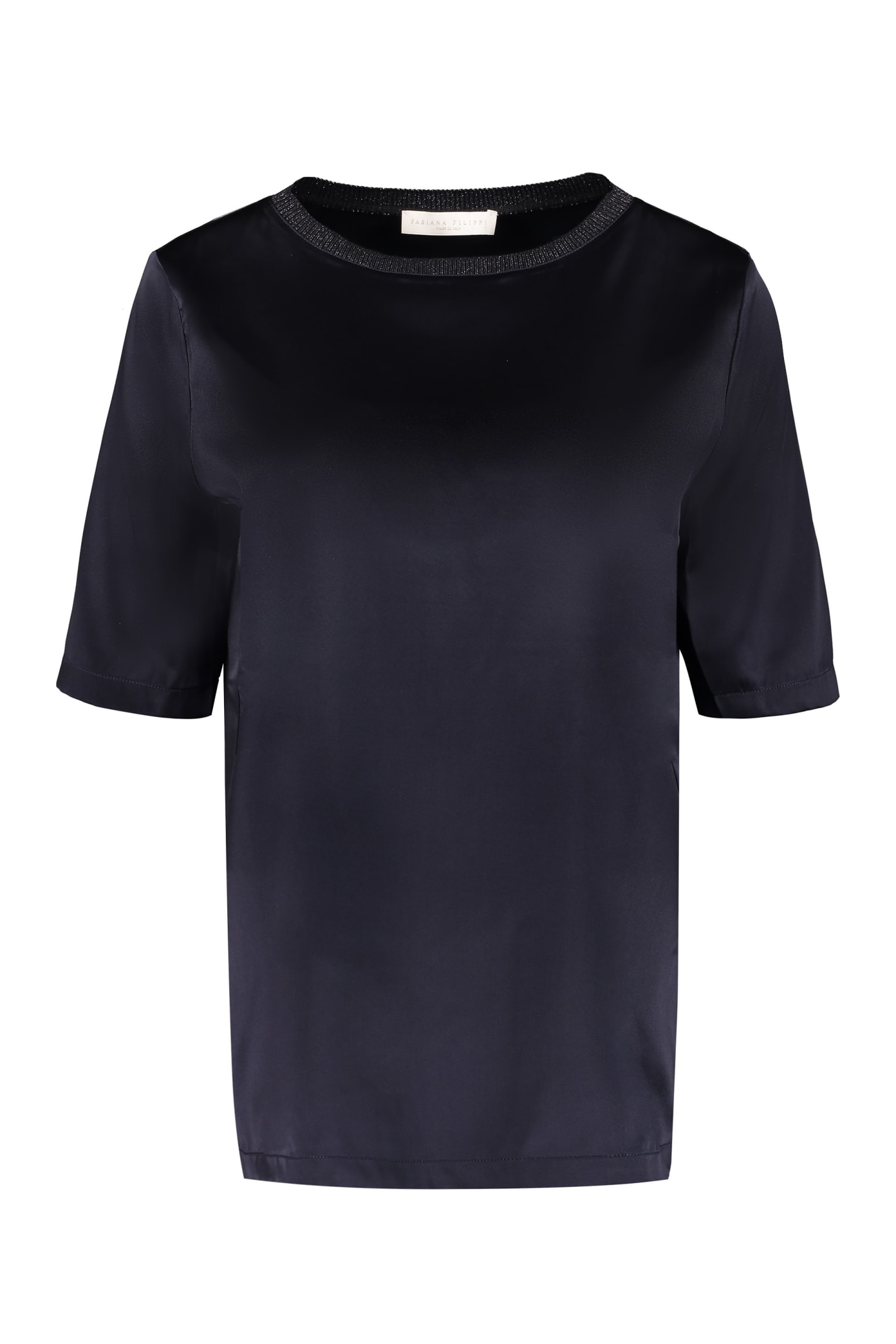 Fabiana Filippi Silk Satin T-shirt