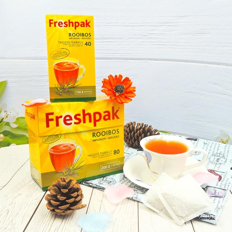 【Freshpak】南非國寶茶 RooibosTea 茶包-新包裝