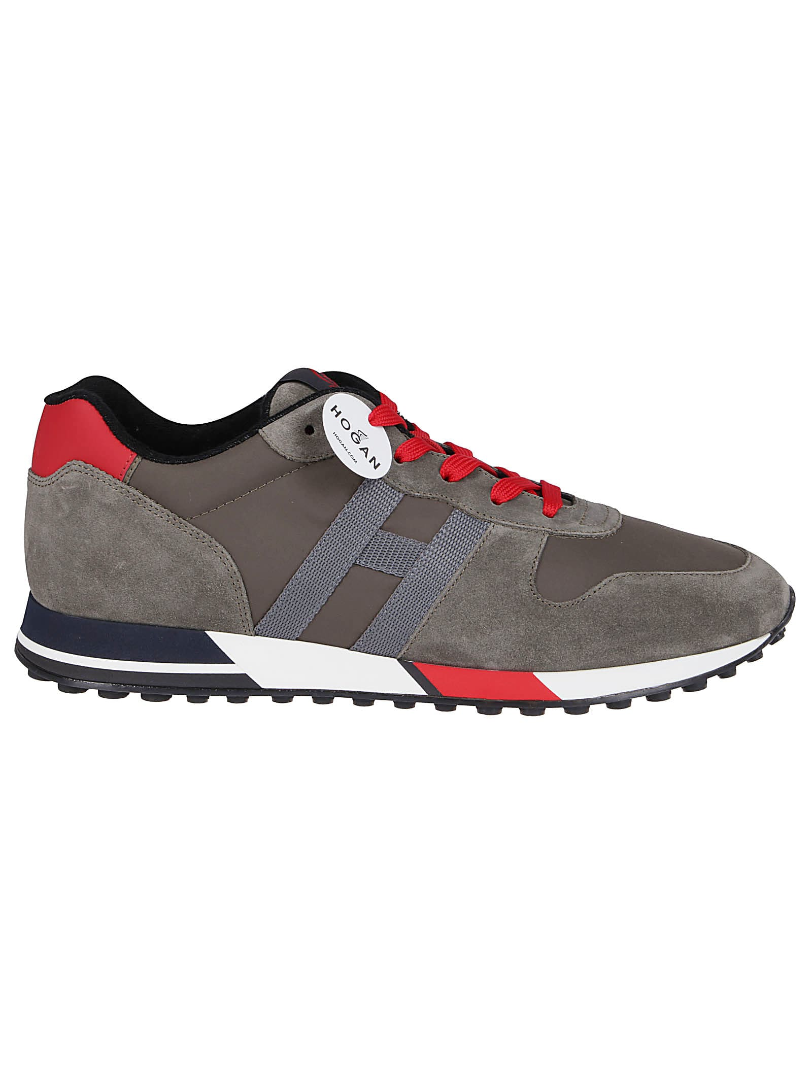 Hogan Green Suede Sneakers