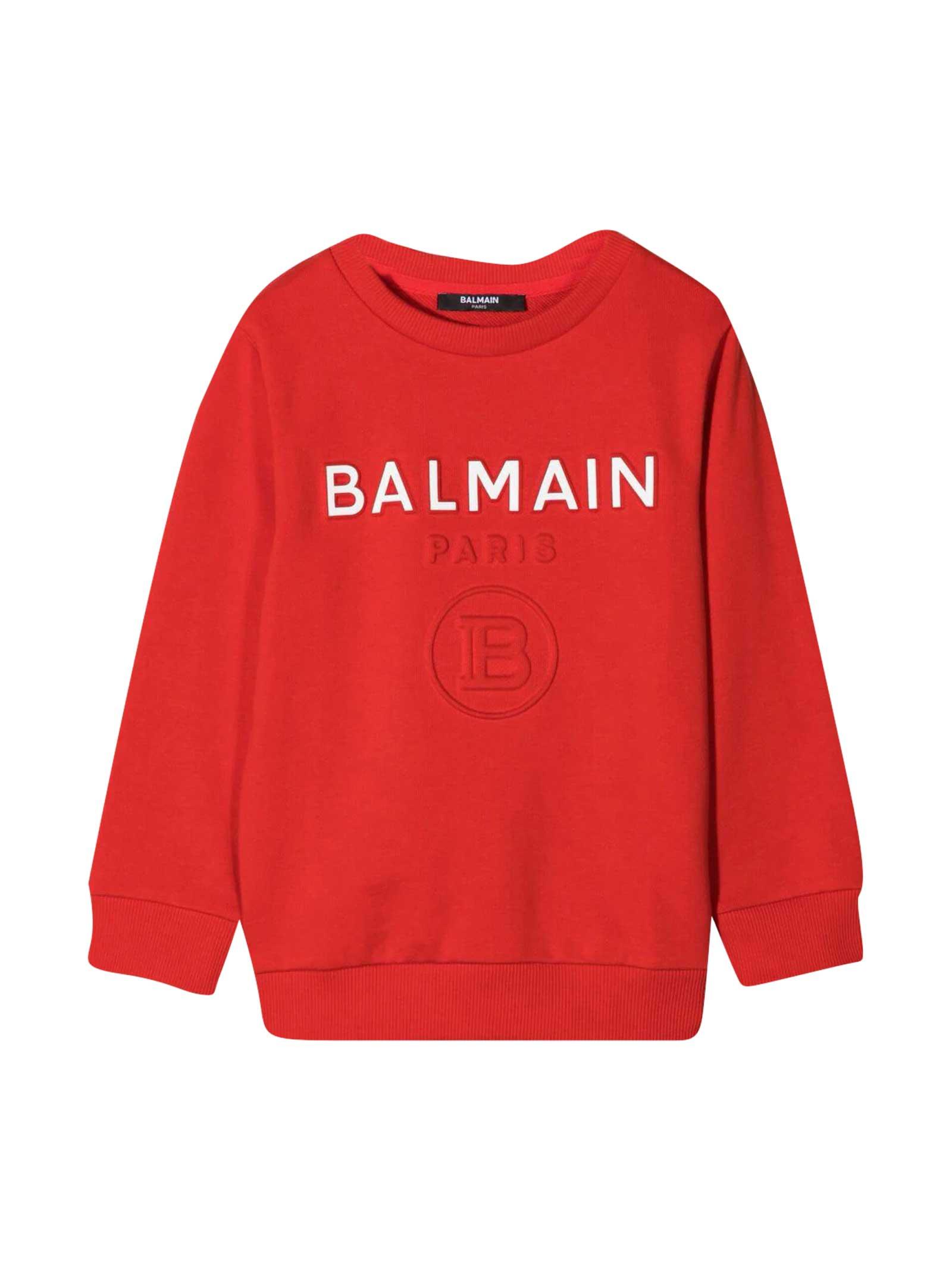Balmain Sweatshirt With Press