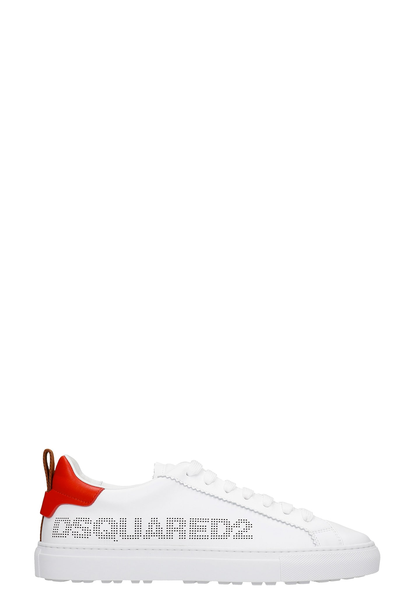 Dsquared2 San Diego Sneakers In White Leather