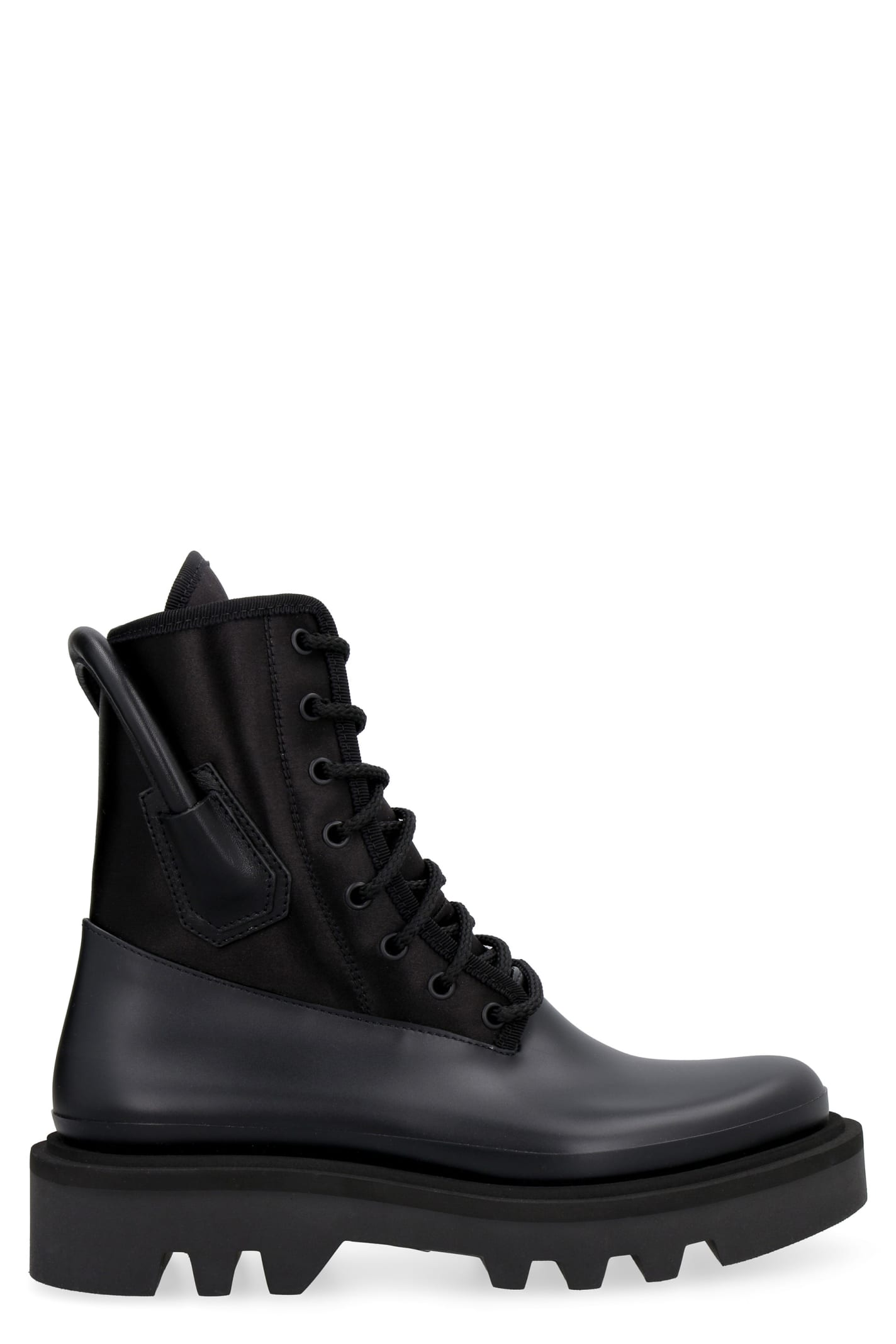 Givenchy Lug-sole Lace-up Boots