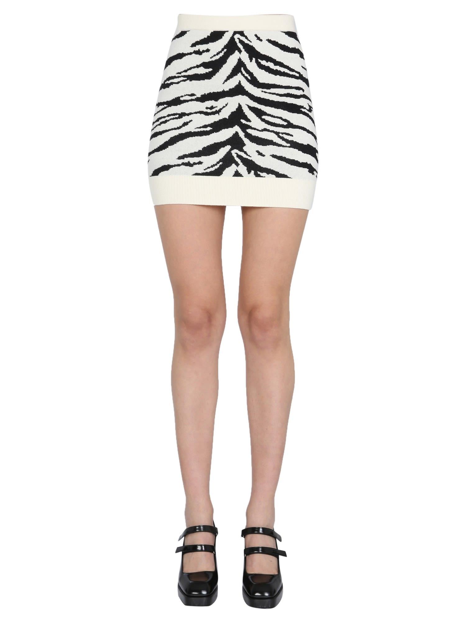 self-portrait Knitted Skirt