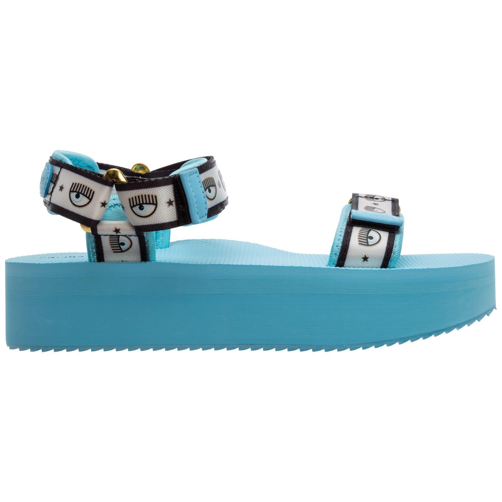 Chiara Ferragni Logomania Sandals