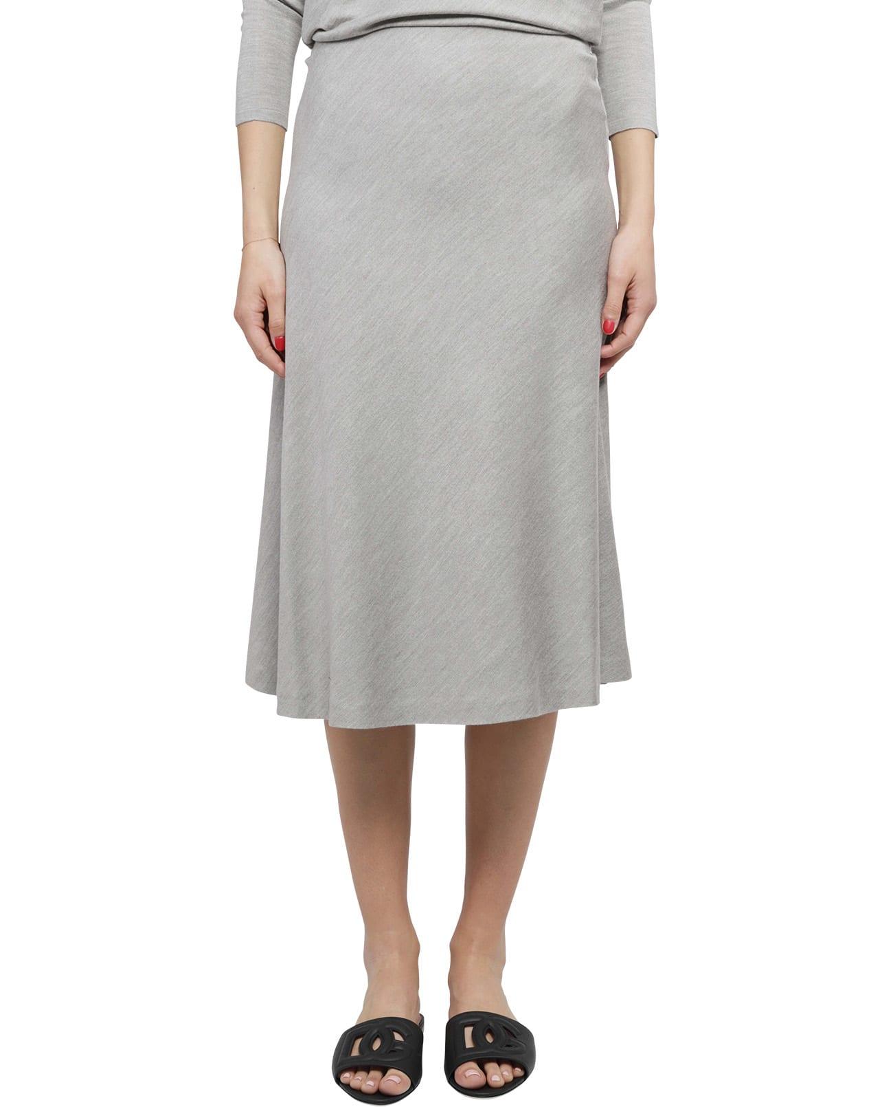 Ralph Lauren Grey Bias Skirt