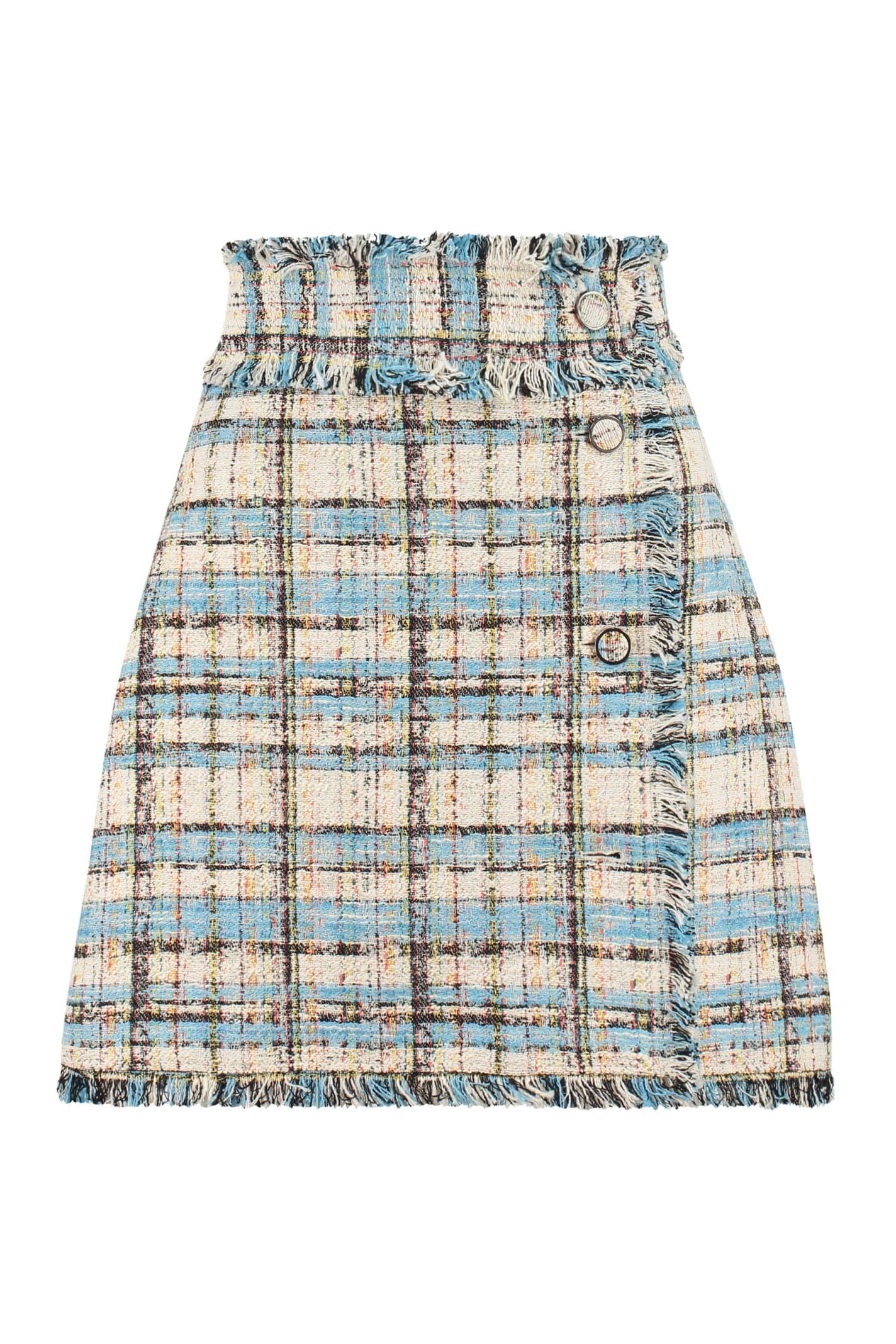 MSGM Tweed Mini-skirt