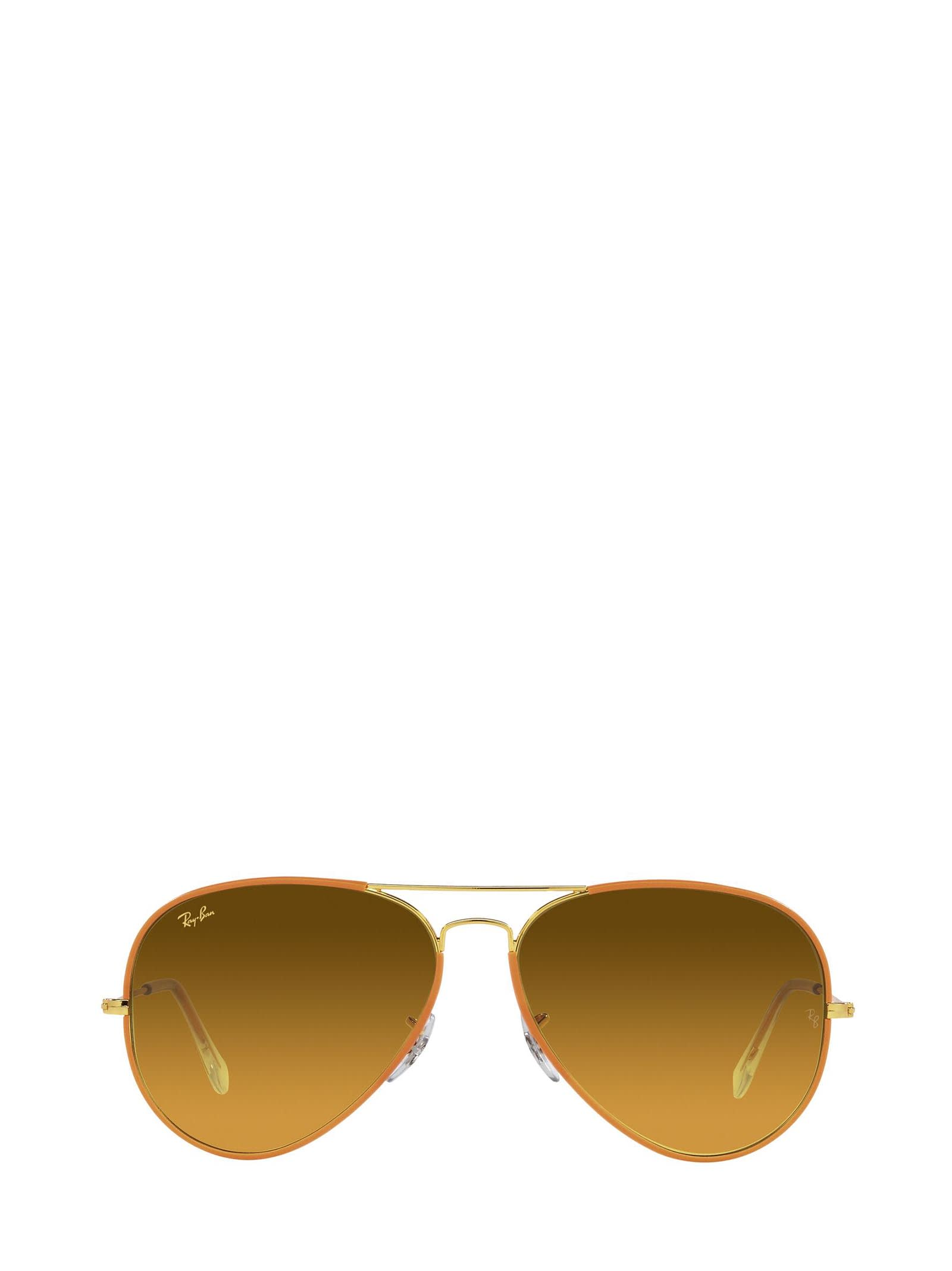 Ray-Ban Ray-ban Rb3025jm Orange On Legend Gold Sunglasses