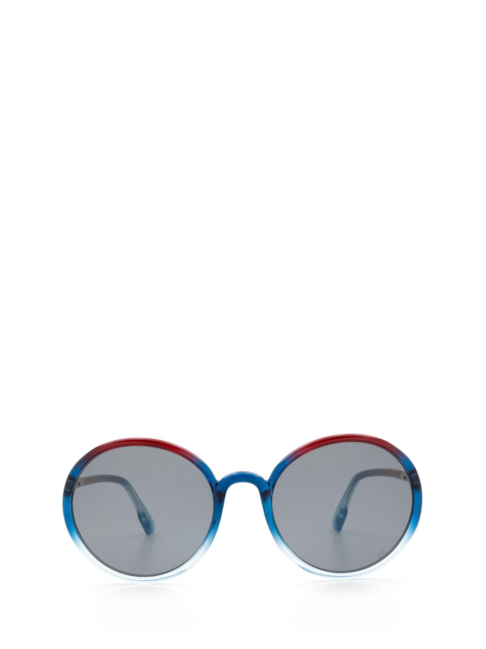 Dior Dior Sostellaire2 Burgundy Shaded Sunglasses