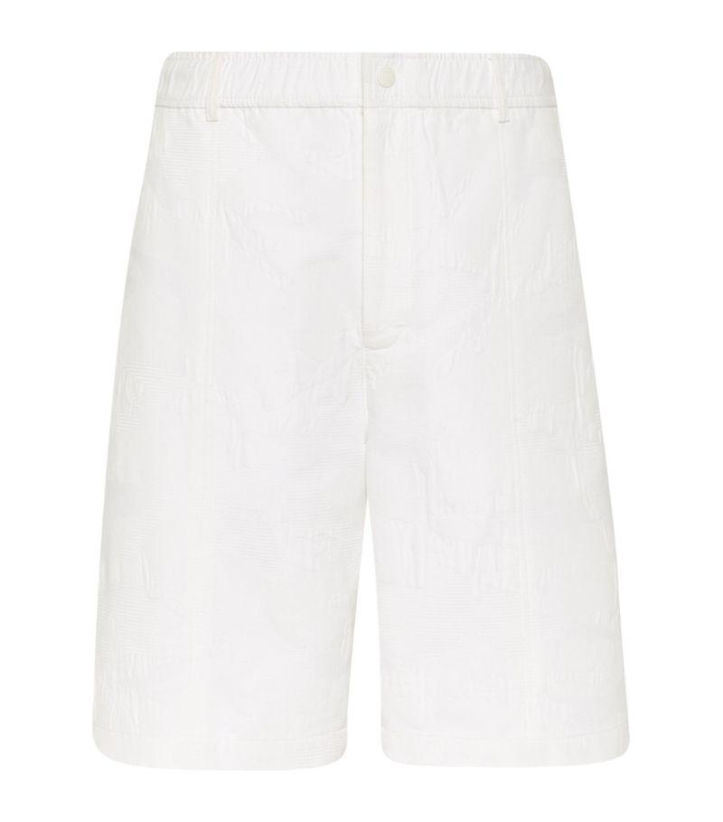 Valentino Camouwhite Bermuda Shorts