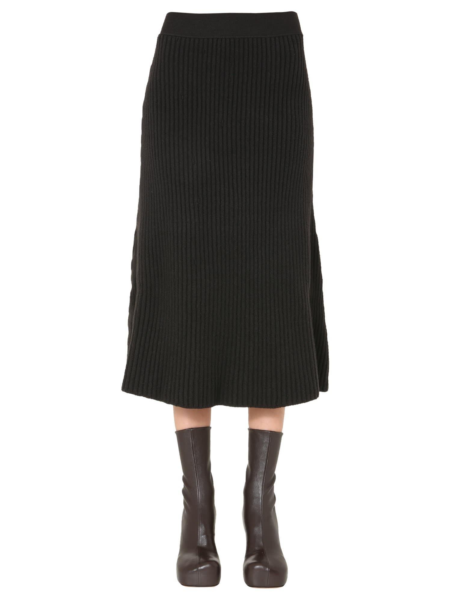 Bottega Veneta Midi Skirt