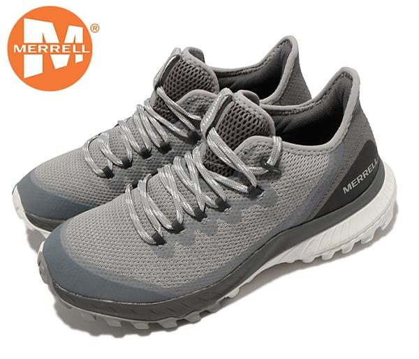 丹大戶外 美國【MERRELL】 戶外鞋Bravada Waterproof 女鞋 ML036024 淺灰/深灰