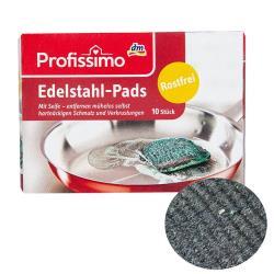 德國Profissimo含皂多功能不鏽鋼刷(極細鋼絲絨)一盒10片入-德國原裝進口