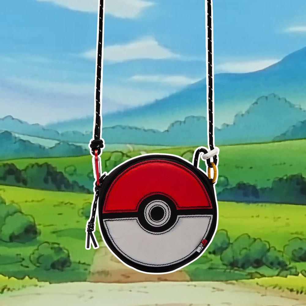 Levis X Pokemon 寶可夢限量聯名 男女同款 精靈球隨身小包 / 精靈球旗標-人氣新品
