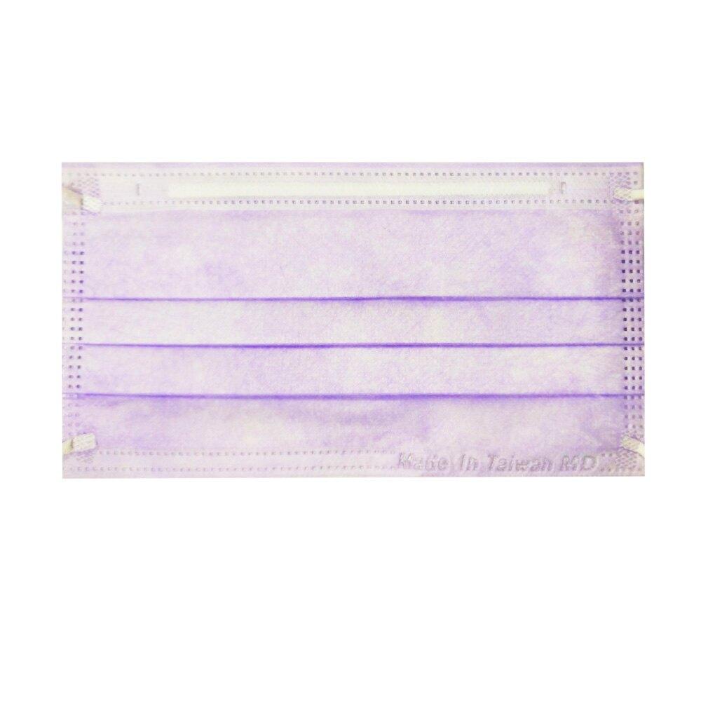 (任選8盒享9折)麥迪康 Medicom 雙鋼印 成人醫用口罩 (紫色) 50入/盒 (台灣製 CNS14774) 專品藥局【2018491】