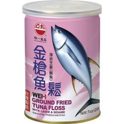 【味一食品】海苔芝麻金槍魚鬆200g(易開罐)*6入組