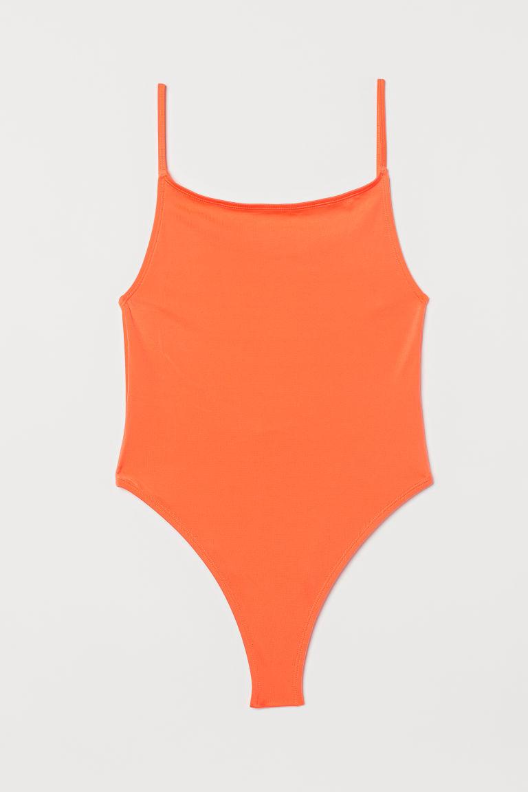 H & M - 連身泳裝 - 橙色