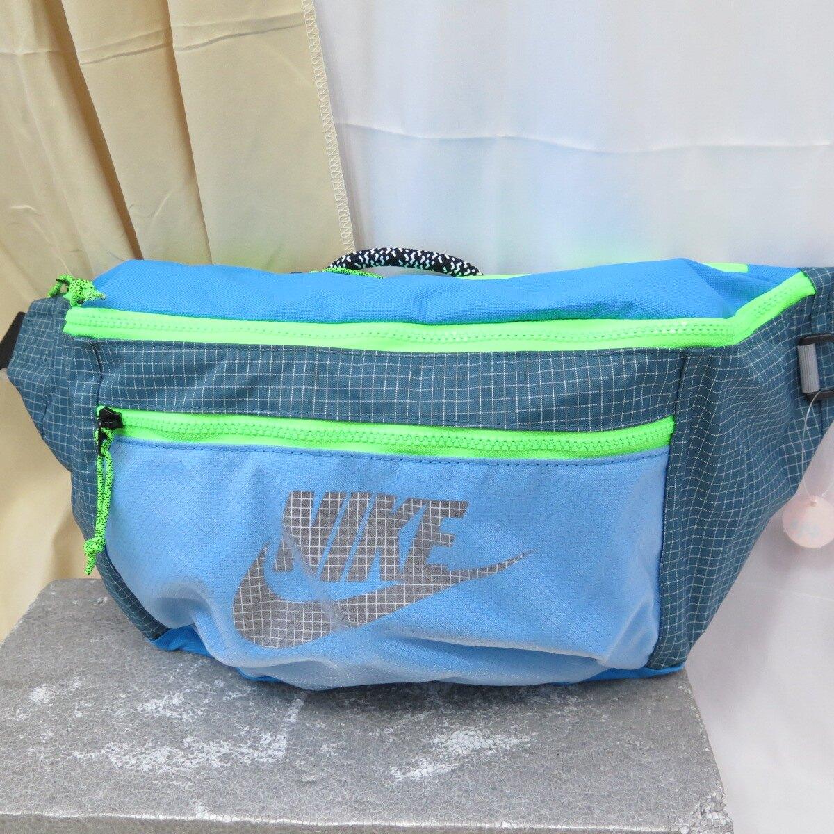 【滿額領券折$150】NIKE NK TECH WAISTPACK - TR 腰包 側背包 CV1411446 藍【iSport愛運動】