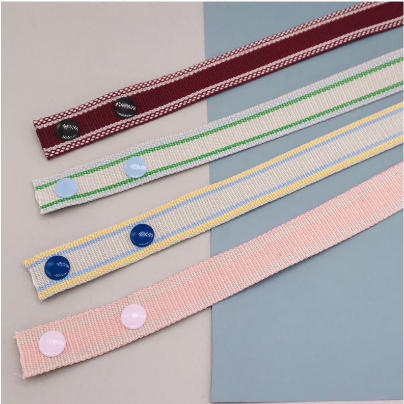 加寬多色編織防丟口罩掛繩 (任選2入)