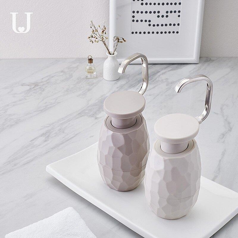 佐敦朱迪創意單手洗手液瓶空瓶子按壓瓶分裝瓶洗發水洗面奶沐浴露