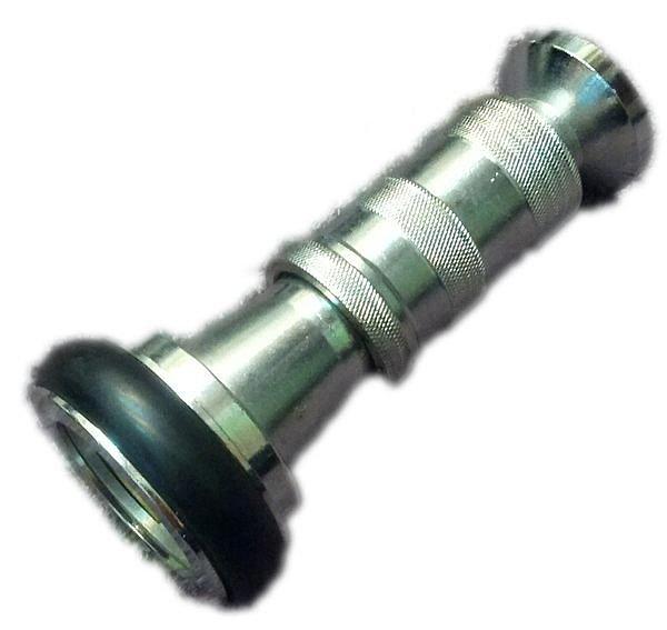 消防器材批發中心 消防專用 1-1/2 瞄子 銅製瞄子快速接頭(直射噴霧兩用型)1.5吋消防水帶專用