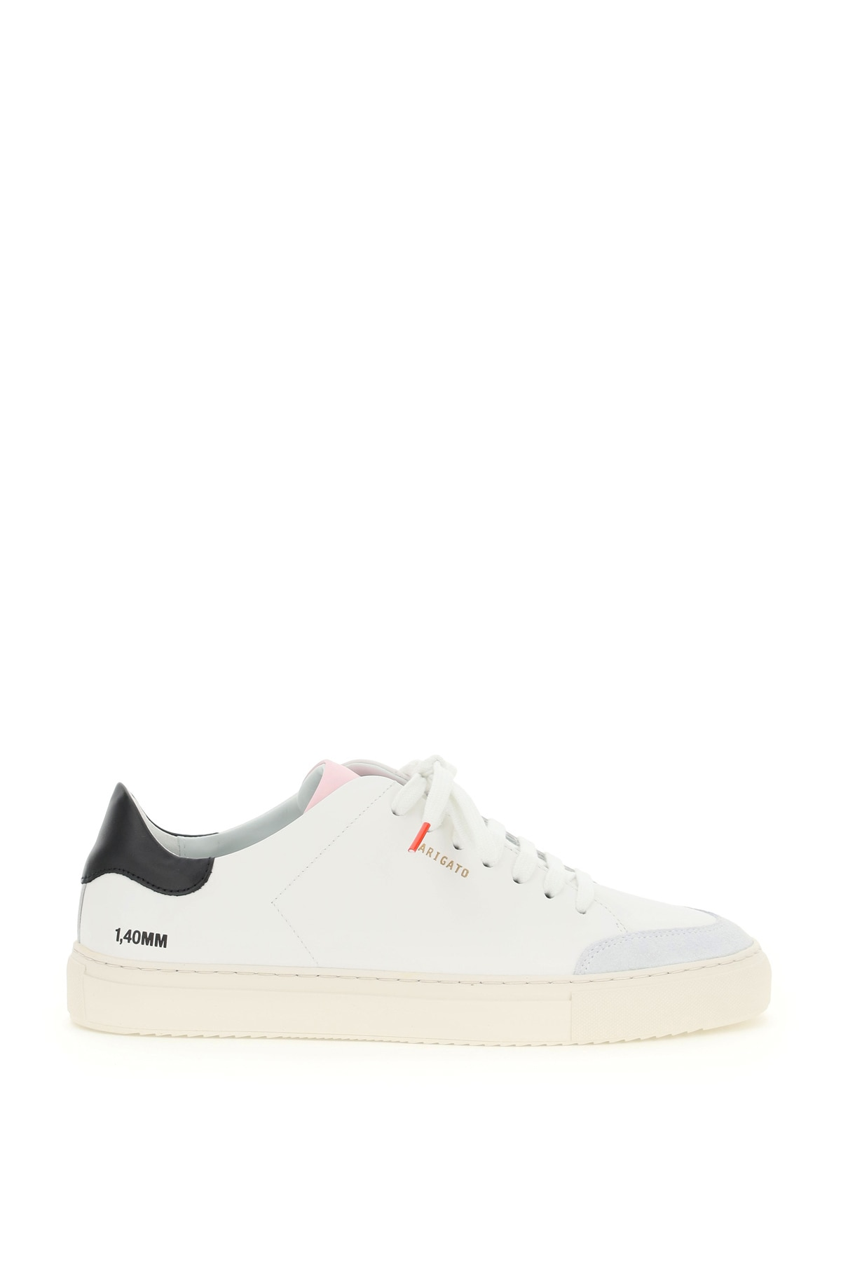 AXEL ARIGATO CLEAN 90 CONTRAST SNEAKERS 41 White, Pink, Black Leather