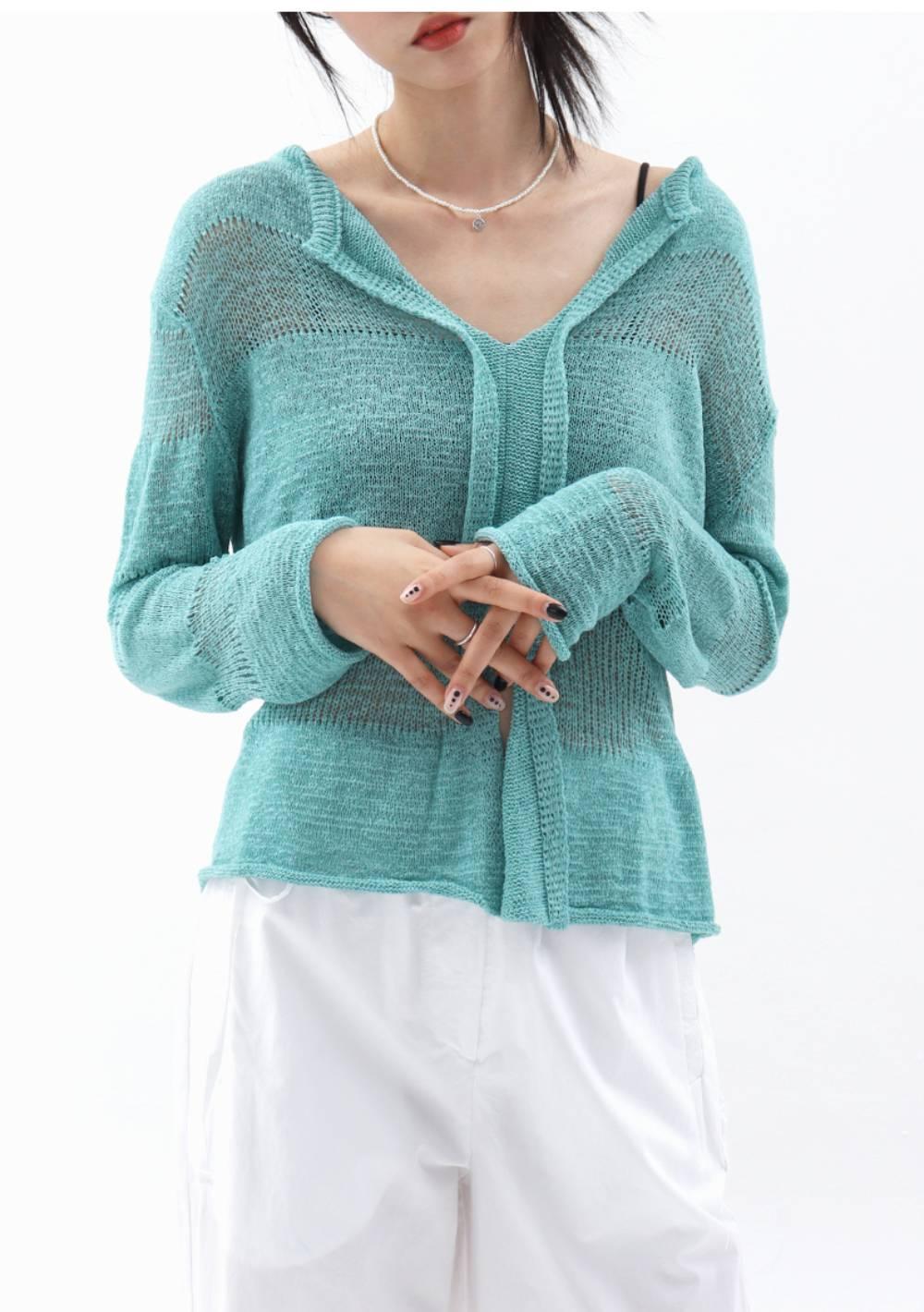 Head Knit Top