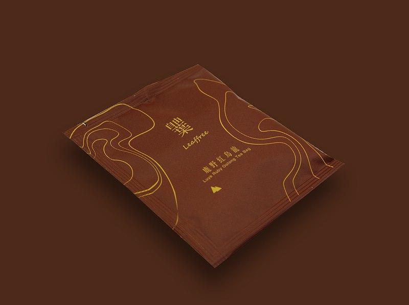 自由葉 | 鹿野紅烏龍 | 原葉精品茶包5入 | 嚴選特色茶 熟果香醇