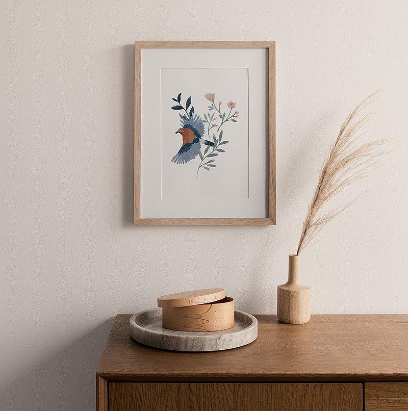 花間飛行/居家佈置/複製畫/裝飾畫作