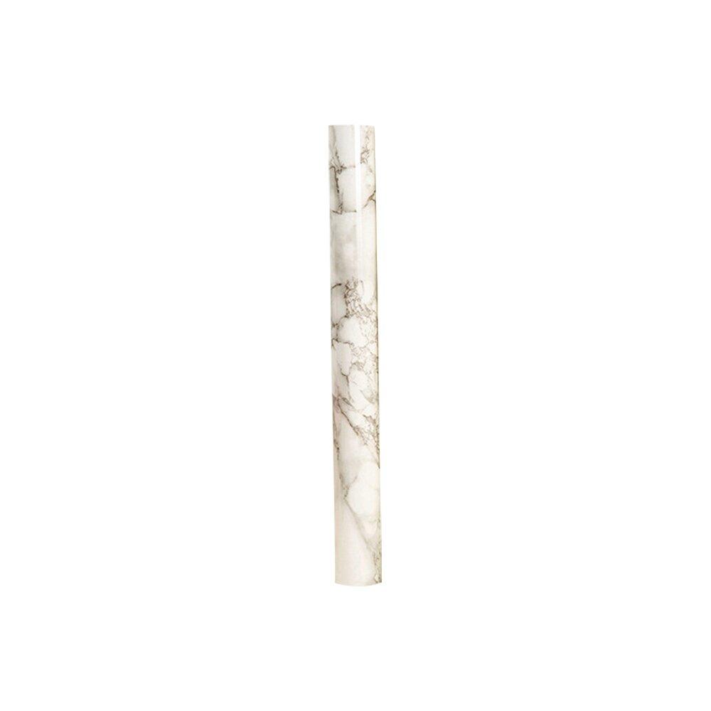 60x300cm 加長拋光大理石自黏傢俱貼 加厚防水牆面 桌面 廚房防油貼紙