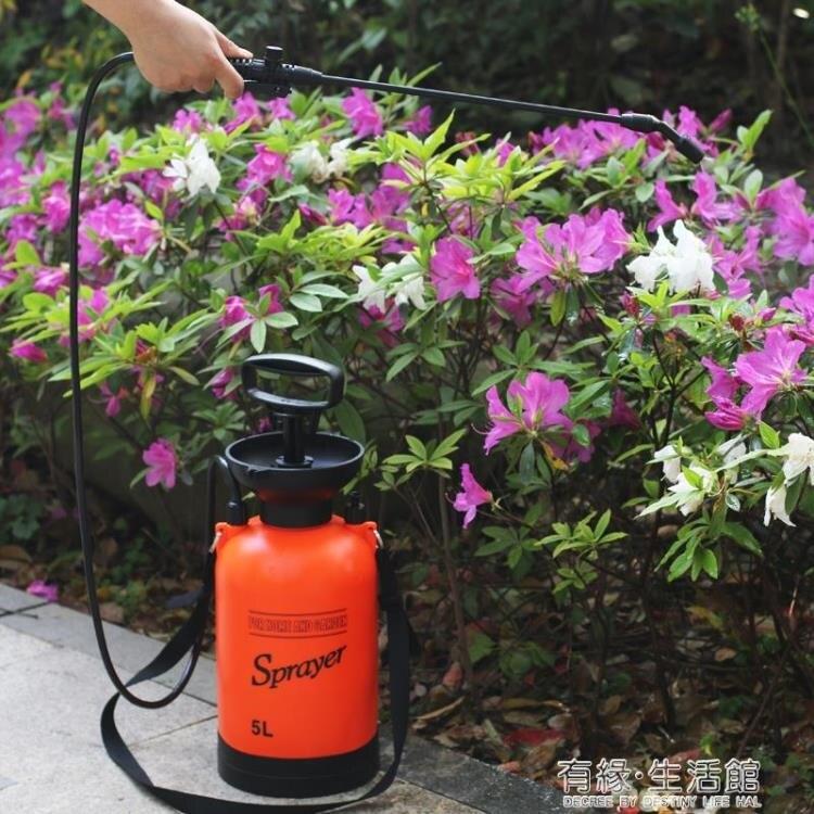 電動噴霧器 噴壺專用噴水壺壓力消毒噴霧器農用氣壓式手動澆花大容量澆水壺 有緣生活館