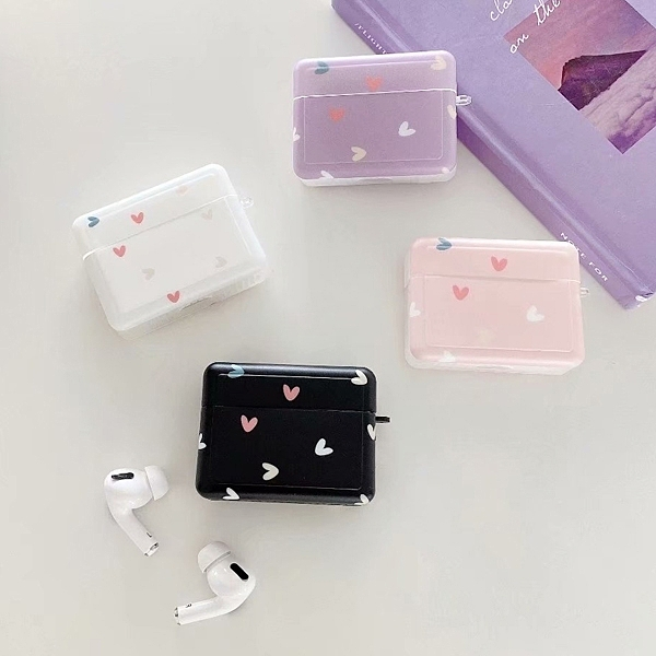 蘋果 Airpods 1代 2代 保護套 小愛心系列 AirPods 保護套 藍牙耳機盒 全包無線耳機殼