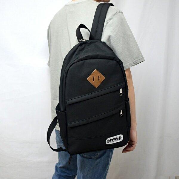 後背包 雙層拉鍊設計簡單【NZB48】