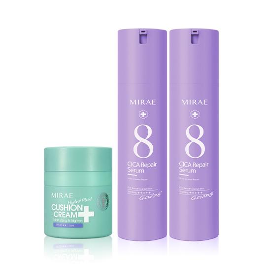 【未來美】速效修護乳精華 x2 +保濕氣墊霜SPF30