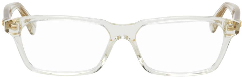 Bottega Veneta 透明 Shiny 眼镜