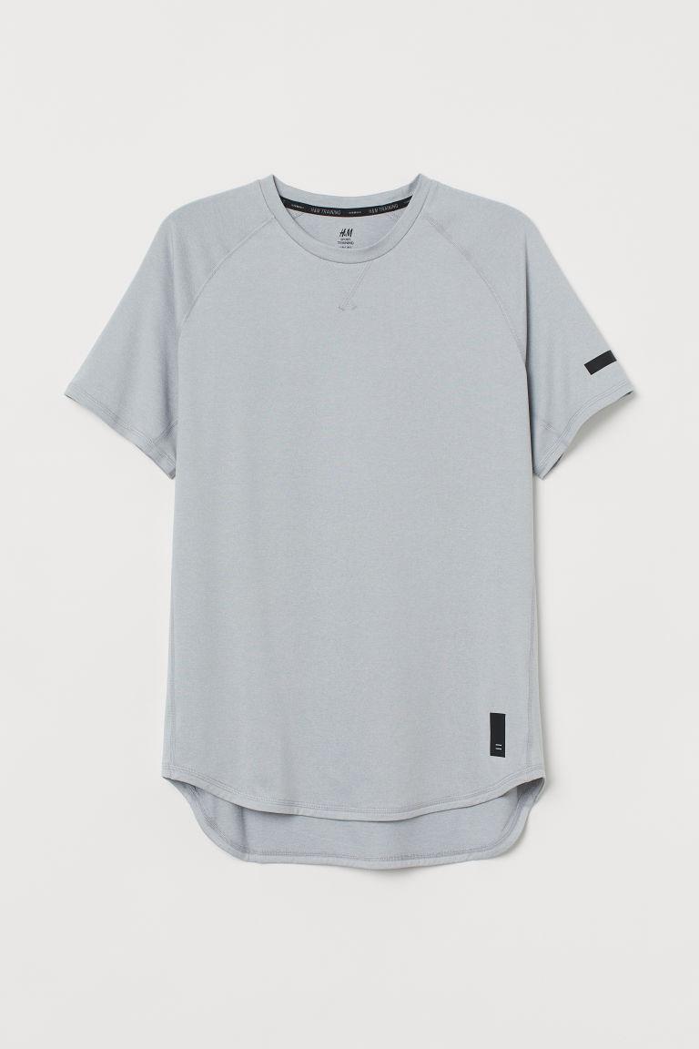 H & M - 寬鬆運動上衣 - 灰色