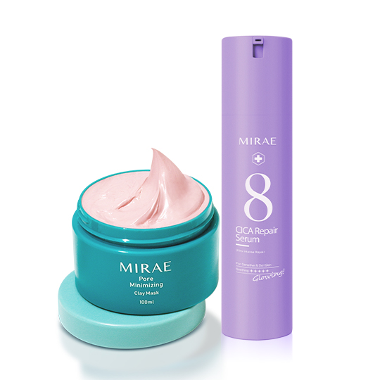 【未來美】速效修護乳精華+毛孔速淨粉泥膜