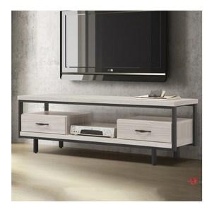 【MUNA 家居】F363型5尺工業風電視櫃/長櫃(共三色)白雪松色