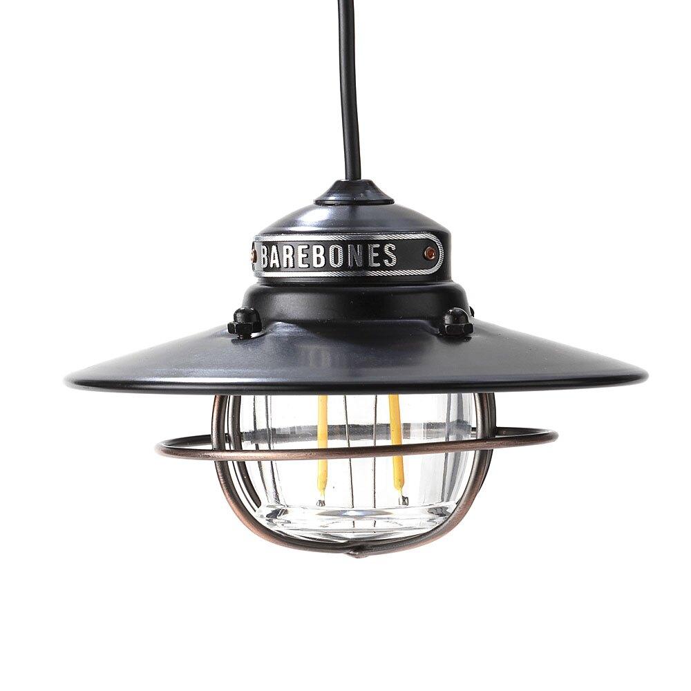 ├登山樂┤台灣 Barebones 垂吊營燈Edison Pendant Light LIV-264 霧黑 # LIV-264