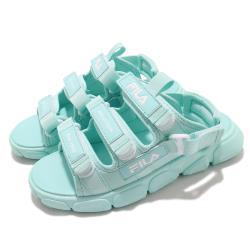 Fila 涼鞋 S418V 運動休閒 童鞋 斐樂 魔鬼氈 外出 輕便 透氣 藍 白 3S418V331 [ACS 跨運動]