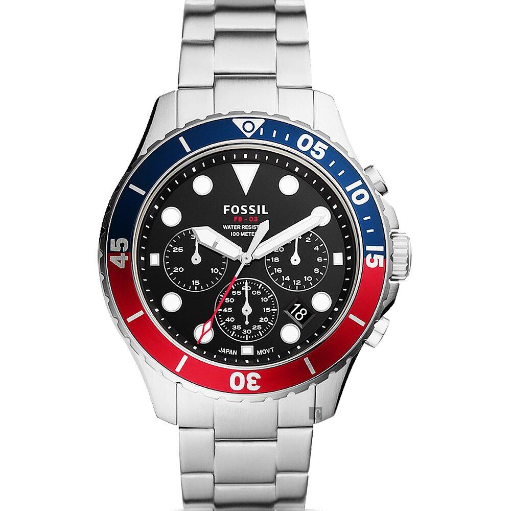 FOSSIL FB-03 可樂圈運動計時手錶 FS5767