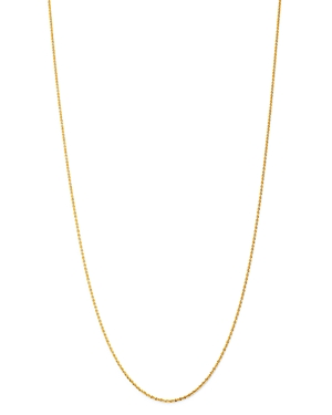 Bloomingdale's Crossover Link Chain Necklace in 14K Yellow Gold, 18 - 100% Exclusive