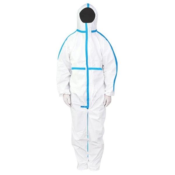 防塵服 海氏海諾防護服一次性隔離衣防疫服連體式全身 風馳