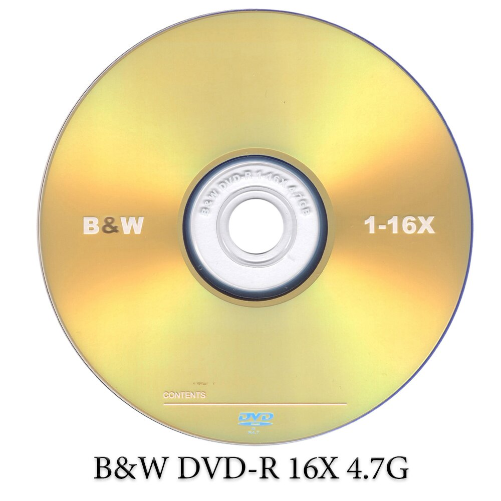 B&W DVD-R 16X 4.7G 50片裝