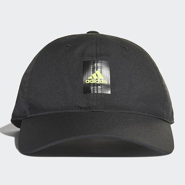 Adidas LOGO 帽子 老帽 吸濕排汗 可調式 黑【運動世界】GN2002